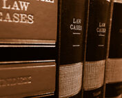 Image of a row of legal books.